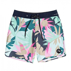 "Short de Baño Quiksilver HIGHLINE TROPICAL FLOW 18"" (GCZ6) - La Cresta Surf Shop"