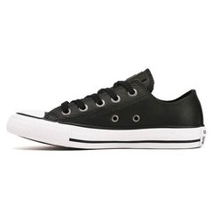 All Star Leather Ox Black/White - comprar online
