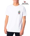 Remera Rip Curl Search Blanca 3386