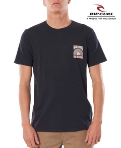 Remera Rip Curl California Estampa 4 (Negra) 3380