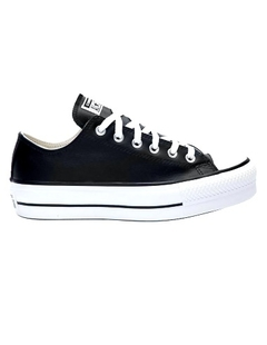 All Star Lift Leather Ox Black