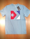 Remera Converse Star Box Celeste 7272A06