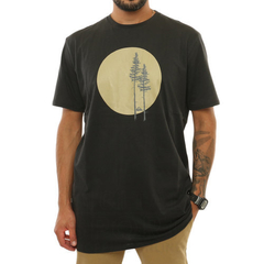 Remera Quiksilver Forest Vibes Negra (2202102011)