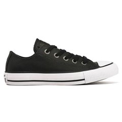 All Star Leather Ox Black/White