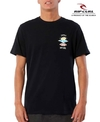 Remera Rip Curl Search Negra 3386