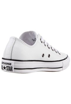 All Star Chuck Taylor Leather Ox White/Black - tienda online