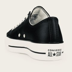 All Star Lift Leather Ox Black - La Cresta Surf Shop