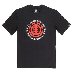 Remera Element Seal Neutral Negro