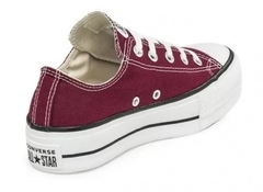 Zapatillas Converse Chuck Taylor Ox Lift Maroon (Bordó) en internet