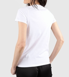 Remera Converse Mujer Patch Blanca - comprar online