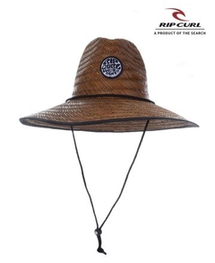 Sombrero Rip Curl Wetty Straw Marrón