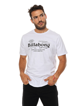 Remera Billabong Surfclub Blanco