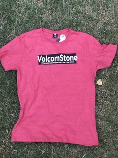Remera Volcom ADD Rojo