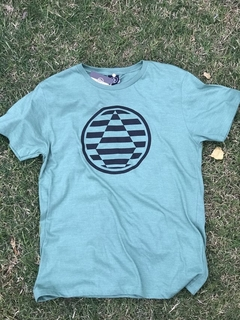 Remera Volcom Optical Verde - comprar online
