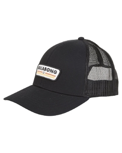 Gorra Billabong Walled Trucker Negra
