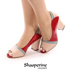 RETRO (PEEP-TOE) CONFORT, COD 905