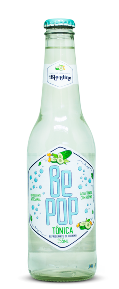 Be Pop Tônica com Pepino 355ml