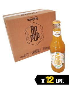 CAIXA BE POP LARANJA 355ML (12 UN.)