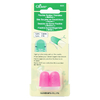 Kit com 2 dedais de borracha Clover - LIMITADO