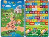 TAPETE INFANTIL PLAY ABC- 0,90X1,50CM