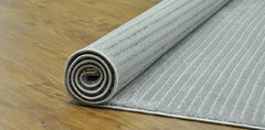 Tapete Via Star Infinity Stripes Prata - 1,50X2,00 - comprar online