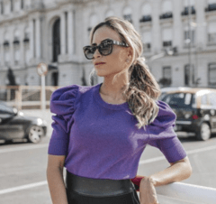 BLUSA BRILHO PURPLE - Use Emporium