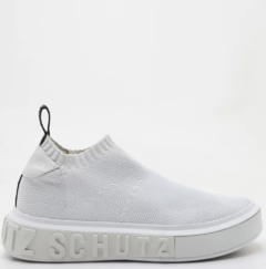 SNEAKER IT SCHUTZ BOLD KNIT WHITE