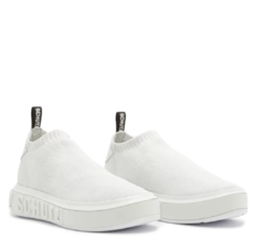 SNEAKER IT SCHUTZ BOLD KNIT WHITE - Use Emporium