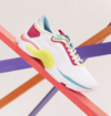 SNEAKER RUSH WHITE POP NEON