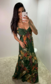 Vestido Longo Floral Dress To