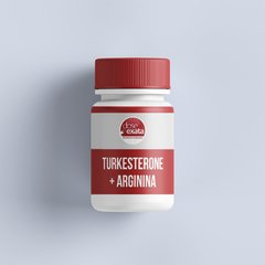 Turkesterone 500mg + Arginina 150mg
