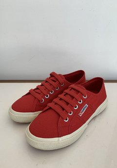 TENIS SUPERGA 2750 COTU CLASSIC RED