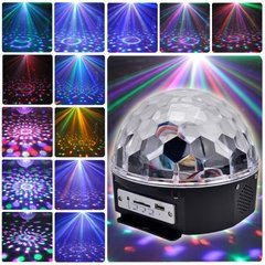 Parlante Portatil MP3 Led Magic Ball Light en internet