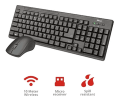 Kit Teclado Mouse Inalambrico Trust - comprar online