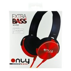 Auriculares Only Stereo Xc-450 | Extra Bass