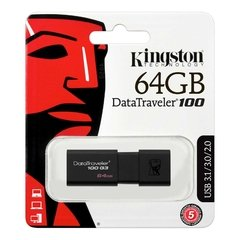 Pendrive Kingston Datatraveler 100 64gb