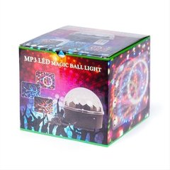 Parlante Portatil MP3 Led Magic Ball Light - comprar online