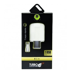 Cargador Rápido Lion Turbo Charger 3.1a