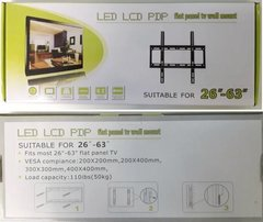 Soporte Tv Led Lcd Fijo Extra Chato 26-63 en internet