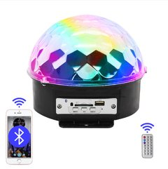 Parlante Portatil MP3 Led Magic Ball Light