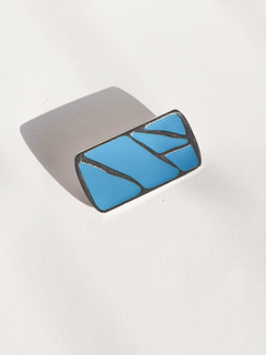 Rectangle Brooch - Wendy Jewelry
