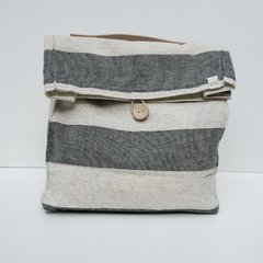Lunch Bag Lino Plomo
