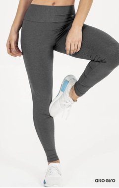 Legging Connect Cinza Alto Giro