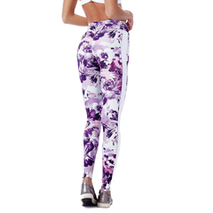 Legging Fusô Golden Talita Power up Floral Vestem - comprar online