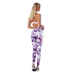 Legging Fusô Golden Talita Power up Floral Vestem - Fitlet