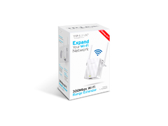 REPETIDOR EXTENSOR DE ALCANCE WIRELESS 2,4 TL-WA855RE 2 ANTENAS