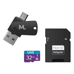 MICRO SD SANDISK 32GB CLASS10 MULTILASER