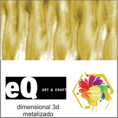 dimensional EQ metalizado 40cc Amarillo