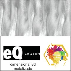 dimensional EQ metalizado 40cc Blanco