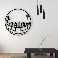 WALL ART MADERA - SKYLINE